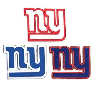New York Giants Patch Iron On NFL Football Team